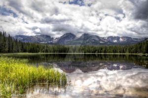 Reflections of the Continental Divide, Colorado by MtnMama