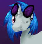 Vinyl Scratch by savannagrey