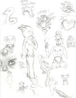 Doodle page by Proshi
