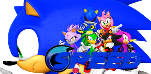 Sonic the Hedgehog: Speed Formation (3D) by UltimateGameMaster
