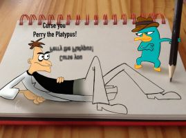 Doof and Perry: Across the 3rd Dimension by Stitch-Ohana