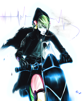 Cruising the Cyberspace by Cryxin