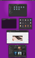 elementary matte black theme by cjbgomes