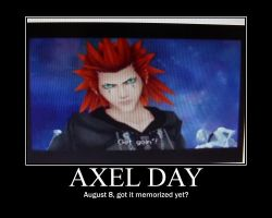 Axel Day by onebecamenone