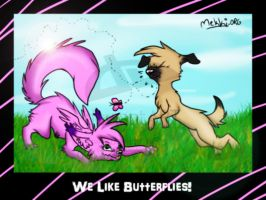 Collab with Mekki :3 by kyleLuver4