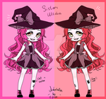 Sisters withces set priced adoptables! |OPEN| by Fillise