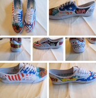 Danger Days Shoes 1 by FlamingCupcake