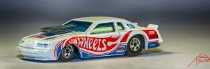 '86 Ford Thunderbird Pro Stock - Hot Wheels by tszuta