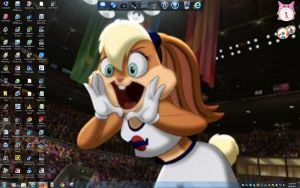 Space Jam Lola Desktop by BigMac1212