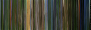 Microcosmos Movie Barcode by naesk