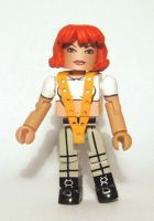 Leeloo (5th Element) Custom Minimate by luke314pi