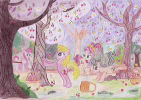 Summers in Dodge Junction - MLP-ATG-Alumni Week 53 by Applejane218