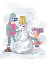 Shut up, Washbucket! by MissFuturama