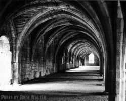 Fountains Abbey by EscaBowmer