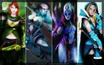 Dota 2 Wallpaper by GlacyRoserade
