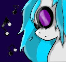 Crying Vinyl colored (Finished I think) by sailor-mini-mars
