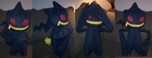 Banette plush commission by YutakaYumi