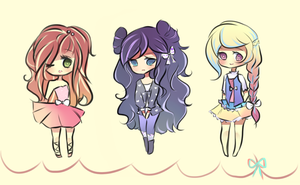 Point Adoptables 3 (SOLD) by mochatchi