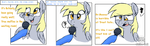 Trotting with the stars interview- Derpy Hooves by Orgin8