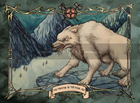 Fenrir the monster of the river Van by May-Paontaure