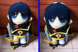 Prince Marth Lowell plushie by VioletLunchell