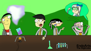 Chemistry Class by Endo1357