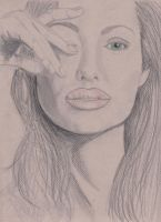 AngelinaJolie, sketch by bwall49