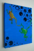 Two Frogs by blankearthdesign