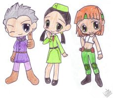 Advance Wars Chibi's by CrazyOkami