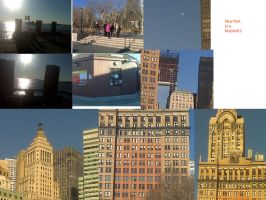 NYC in  a nutshell 2 by ponygirl74