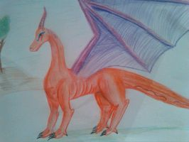 after a long time a dragon.... by Sonnenelfe