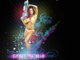 WWE Candice Michelle Wallpaper by MoHaNiSh13