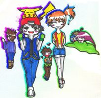 1er jour : La ligue Kanto by Ariall