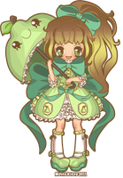 Pear Lolita by Minty-Kitty-Art