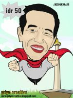 jokowi caricature by Bungatyas