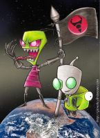 Victory Victory for Zim by Giosuke