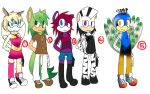 Sonic Adoptabes by Lolly-pop-girl732