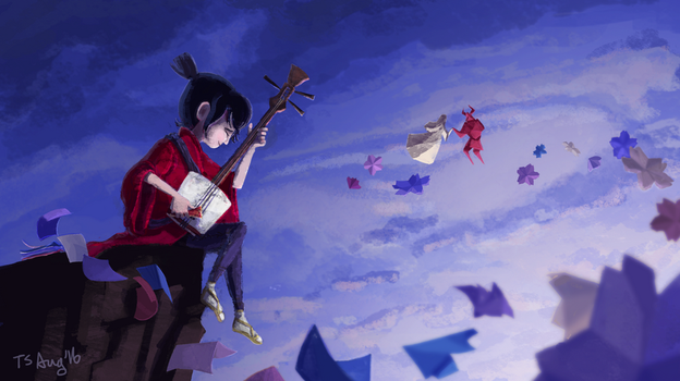 Kubo and the Two Strings by inkatt