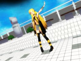 MMD Ginishi Lily by chibicosplayer
