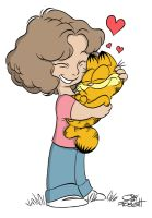 Garfield and Friend by JayFosgitt