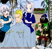 Miraxus Cover || Fairy Tail 329: Seven Dragon by afrillia