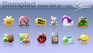 Samoled: icon set 6 by jquest68