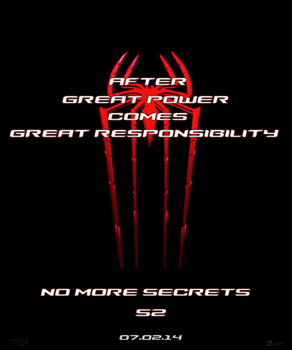 The Amazing Spider-Man 2 Teaser Poster -red by SplendorEnt