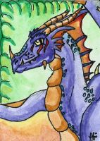 ACEO - Saurro by DarkAfi4
