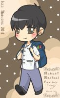 Chibi Boys' School Uniform by suzannedcapleton