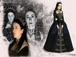 Queen Katherine: The Tudors by Nurycat