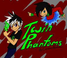 Twin Phantoms: Title card by CartoonFreakshow