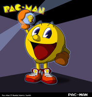 Pac-Man by fryguy64