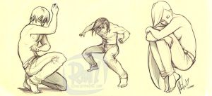 Jeans Sketches by ritam