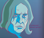 Snape: Illustration by Spider-Loot